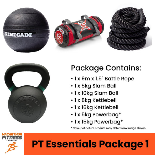 PT Essentials Package 1 - Macarthur Fitness Equipment