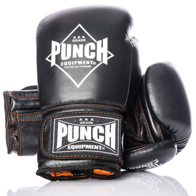 PUNCH BLACK DIAMOND™ THAI BOXING GLOVES - Macarthur Fitness Equipment