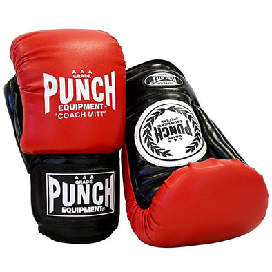 Punch® Coach Mitt Boxing Gloves/Pads - Macarthur Fitness Equipment