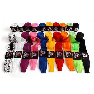 Punch Urban Stretch Hand Wraps - 4 Metres - Macarthur Fitness Equipment