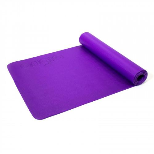Purple Pilates Mat with Eyelets - Macarthur Fitness Equipment