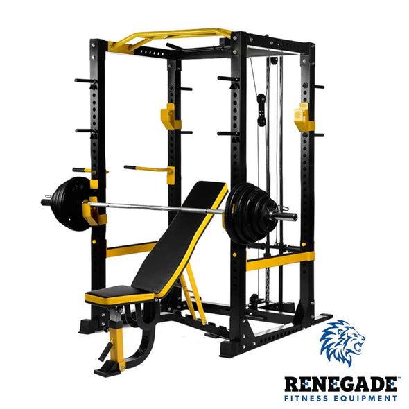 Renegade Heavy Duty Power Rack Package - Macarthur Fitness Equipment