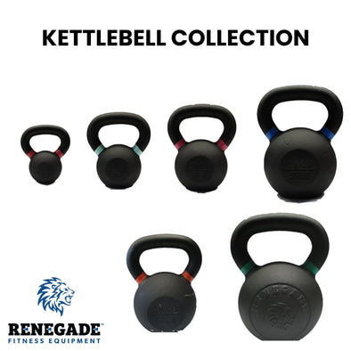 Renegade Kettlebell Collection - Macarthur Fitness Equipment