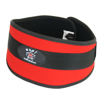 "Synthetic 6"" Weight Lifting Belt Extra Large - Macarthur Fitness Equipment"