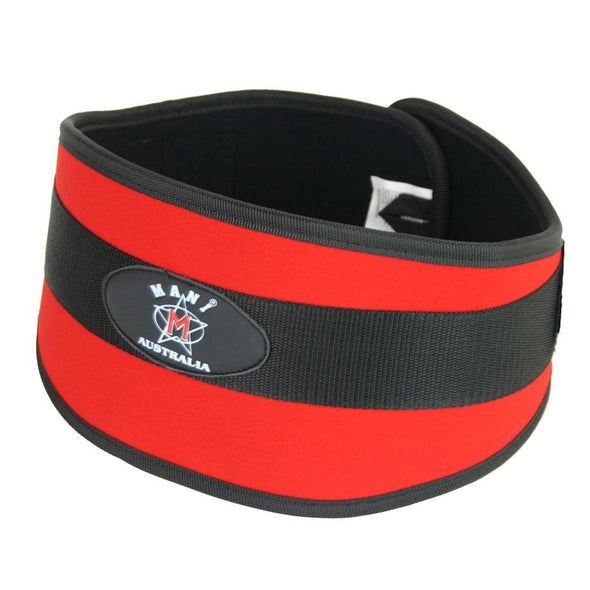 "Synthetic 6"" Weight Lifting Belt Medium - Macarthur Fitness Equipment"
