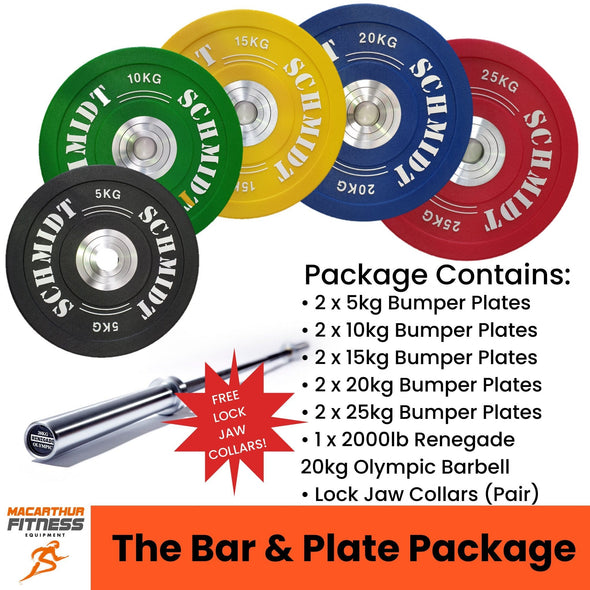 The Bar & Plates Package - Macarthur Fitness Equipment