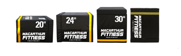 VIP Sports Foam Plyo Box - Macarthur Fitness Equipment