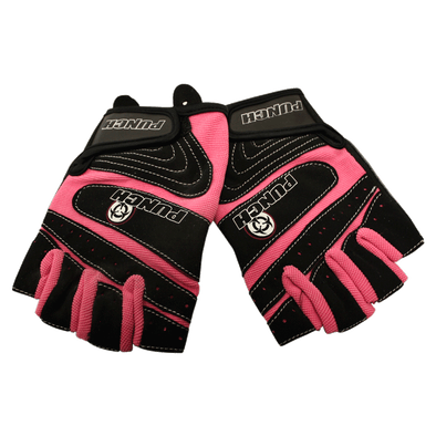 WEIGHT MITTS PRECISION - LADIES PINK/BLK/GREY - Macarthur Fitness Equipment