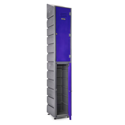 2 Tier Locker Slanted - Path Plastics Cape Town