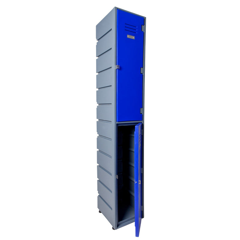 2 Tier Locker Flat - Path Plastics Cape Town