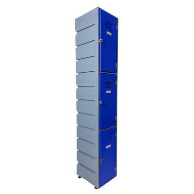 3 Tier Locker Flat - Path Plastics Cape Town