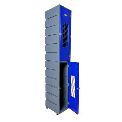 2 Tier Locker Flat - Mesh - Path Plastics Cape Town