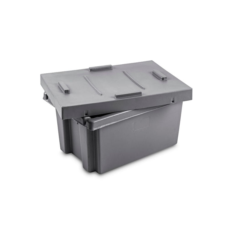PT610 (Eurobox) with (optional extra) Lid - Path Plastics Cape Town