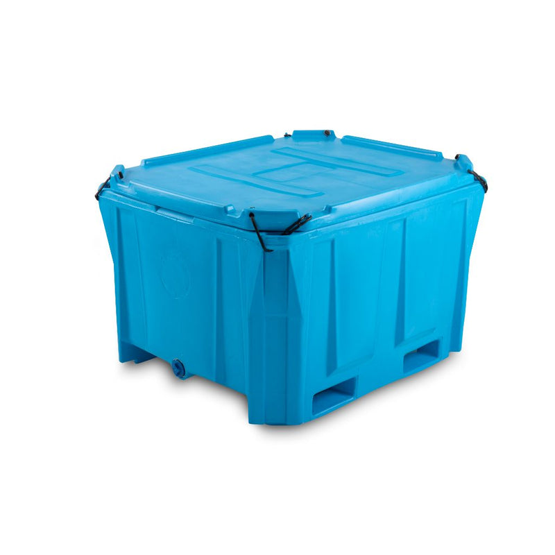 PT660i  Plastic Bulk Bin Insulated with Lid - Path Plastics Cape Town