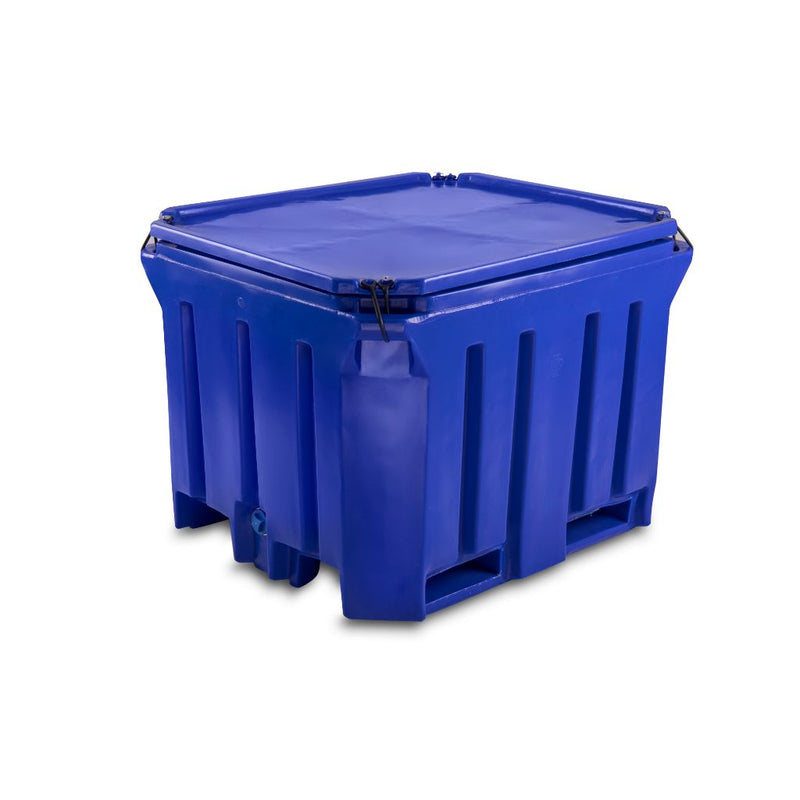 PT750ni  Plastic Bulk Bin ( non-insulated) with Lid - Path Plastics Cape Town