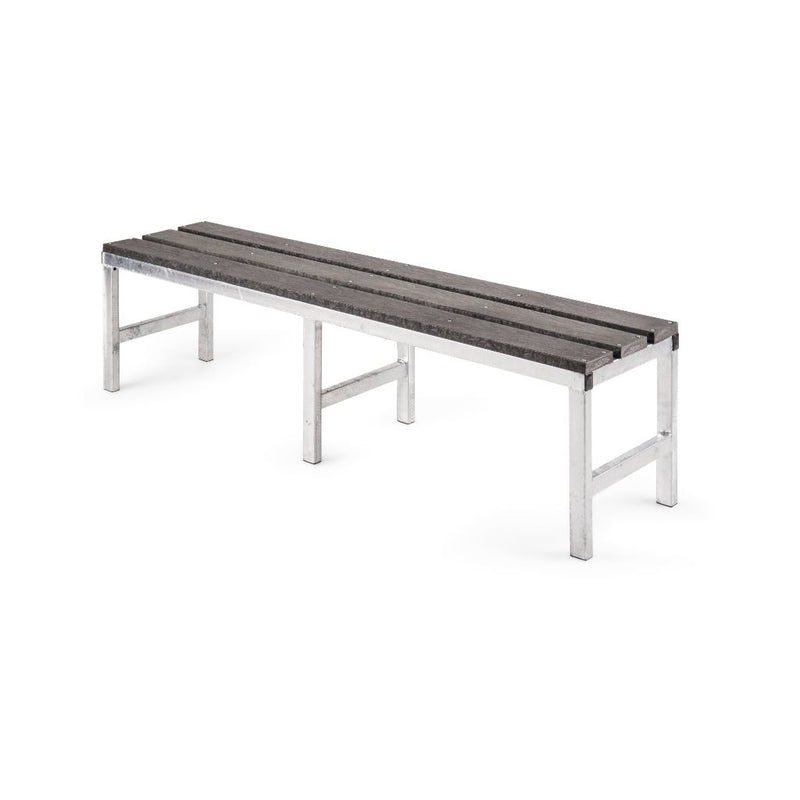 Single Bench with Plastic Slats - Path Plastics Cape Town