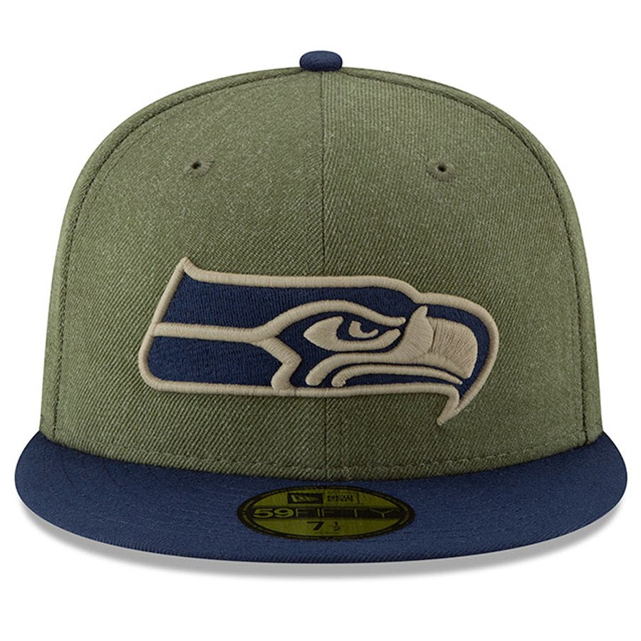 watch 771d5 ff96d ... New Era Mens Seattle Seahawks 5950 ONF18 STS HAROTC ...