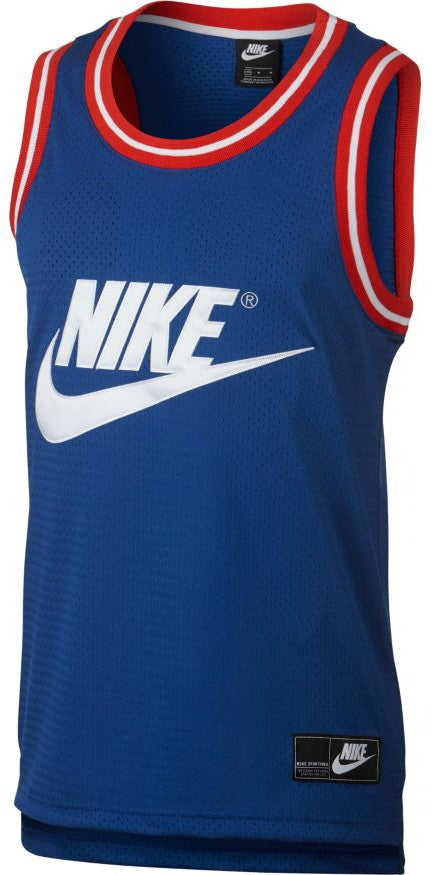 d1207f81 Nike Mens NSW Tank Statement Mesh AR9892 438 - www.athleteschoicewa.com