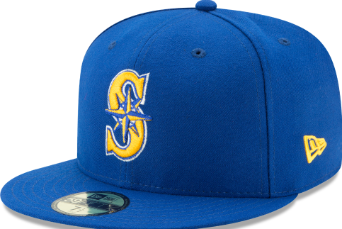 sports shoes 90642 cec5c New Era Youth Seattle Mariners Alternate 2 Fitted Hat