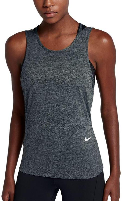 famous brand presenting on feet shots of Nike Wmns Dry Training Tank Loose 904460 010