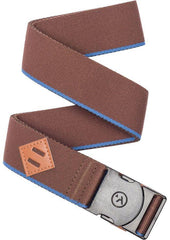 Arcade Mens Standard Belt Blackwood Brown Polar Blue