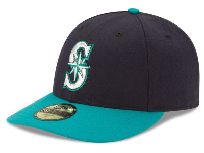 New Era Mens 5950 LowPro ACPerf Seattle Mariners Alternate Fitted ... bea18e7dc