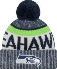 New Era Mens NFL17 Seattle Seahawks Sport Knit Beanie 11460380