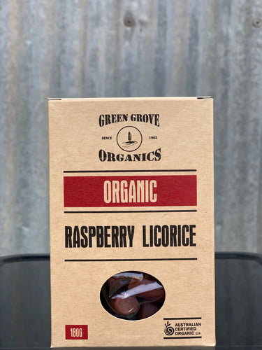 Raspberry Licorice