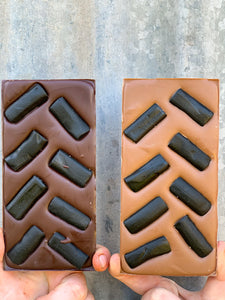 Licorice Chocolate Blocks