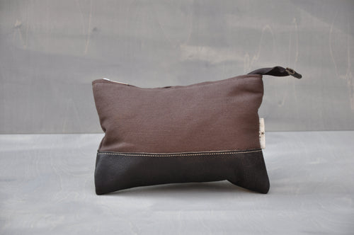 Utility Pouch - (Brown / Buffed Brown)