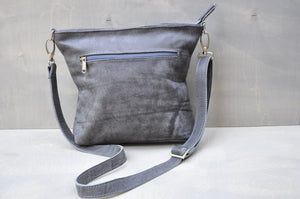 Cecilia Crossbody bag ( Buffed Grey)