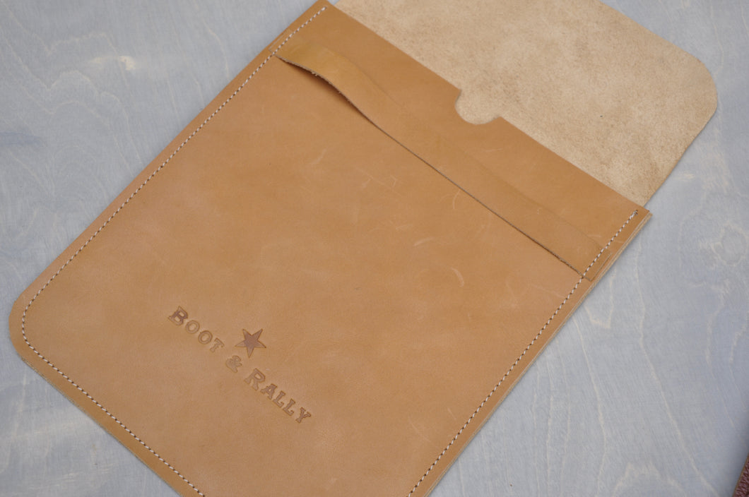 Tablet slim sleeve ( Genuine leather)
