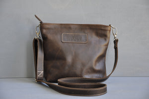 Cecilia Crossbody  bag ( choc brown)