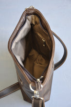 Load image into Gallery viewer, Cecilia Crossbody  bag ( choc brown)