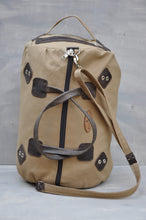 Load image into Gallery viewer, Travel Duffle - (Beige / Brown)