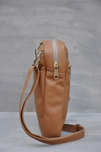 Satchel - (Tan)