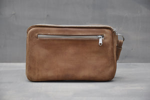 Travel Pouch - (Tan)