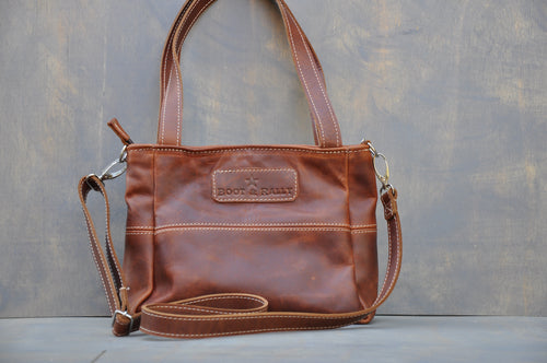 Jana Bag - (Tabacco color)