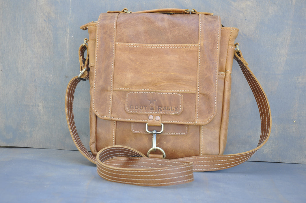 De La Rey satchel (Full Leather)