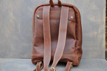 Load image into Gallery viewer, The Traveller Back Pack ( Tabacco colour)
