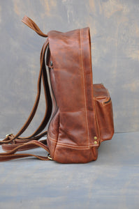 The Traveller Back Pack ( Tabacco colour)