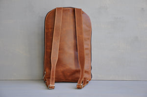 The AB Laptop Backpack ( Full Leather )