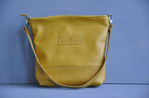 Megan bag With a twist (Mustard)