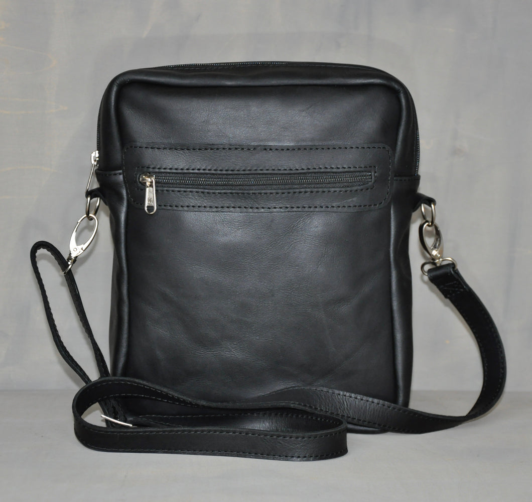 Mens satchel - Swagger - Black