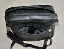 Load image into Gallery viewer, Mens satchel - Swagger - Black