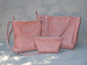 Combo Deal - Lize-Marie , Mini Hipster, Cosmetic Bag - Dusty Pink