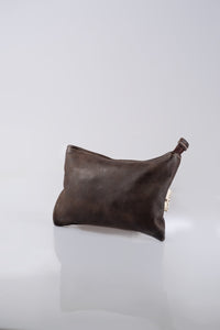 Utility Pouch - Full Leather (Buffed Brown)