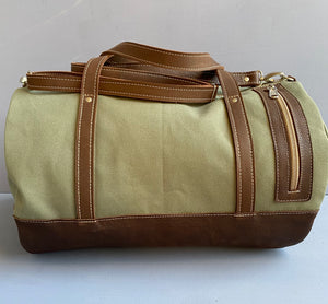 Safari Duffle ( Green )