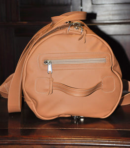Travel Duffle - (Tan)