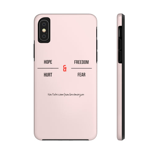 Hope & Freedom Case Mate Tough Phone Cases